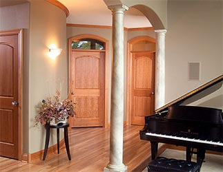 Residential doors in joplin mo midwest doors interiors for Living room door designs